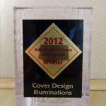 BOOK COVER Award Plaque
