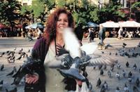 Portrait of Jane Lipman on Plaza