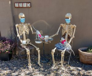skeletons tea time