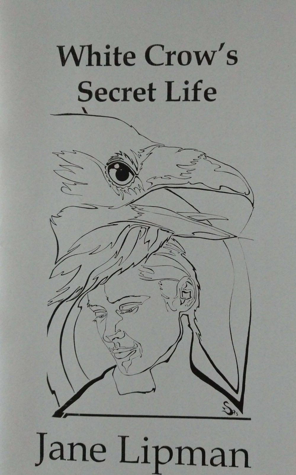 """""""The White Crow Secret"""" award winning book cover illustration by Steven E. Counsell"""