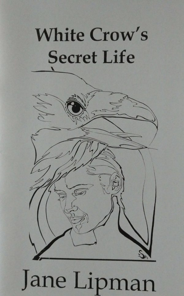"""The White Crow Secret"" award winning book cover illustration by Steven E. Counsell"