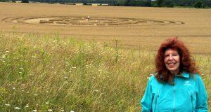 Jane Lipman, Author, and Crop Circles