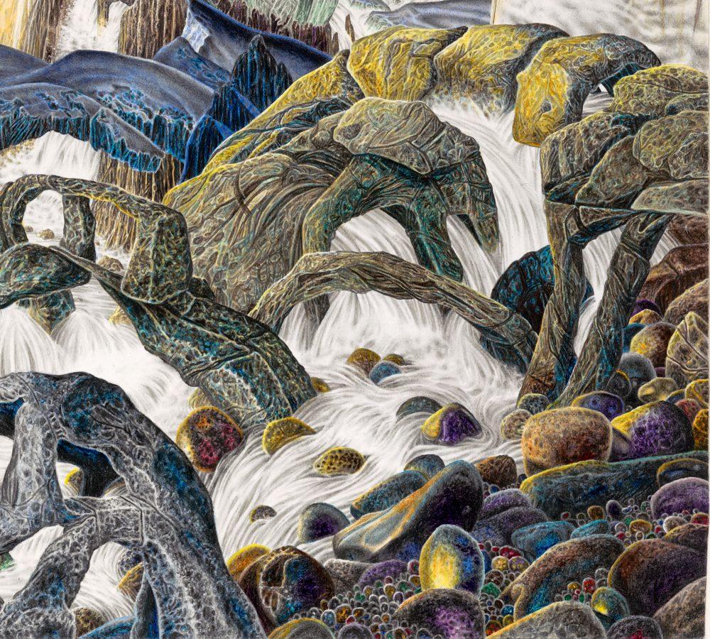 BONES OF CREATION, painting detail